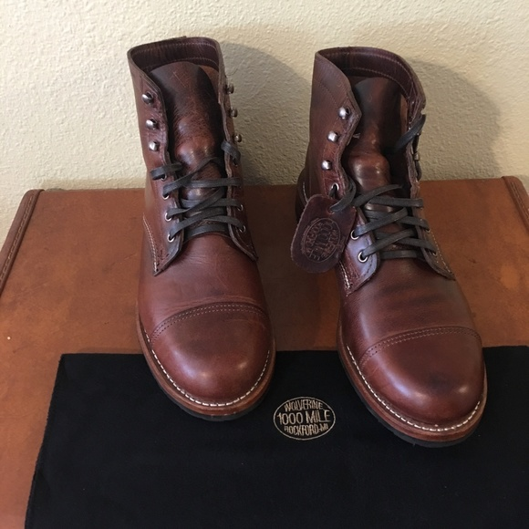 f2726d4a7ea NWT Wolverine 1000 Mile Adrian Boot